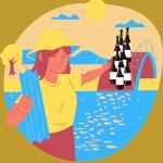 Aké víno si zabaliť na dovolenku? Tip na 10 druhov slovenského vína na leto.